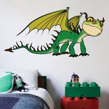 Design With Vinyl How To Train Your Dragon Toothless Dragon Wall Decal Wayfair
