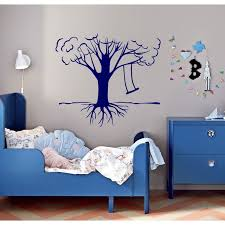 Shop Tree Swing Life Wall Art Sticker Decal Blue Overstock 11759588