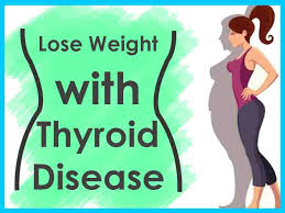 lose weight with thyroid disease