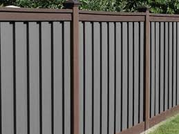 Trex Woodland Brown And Grey Fence Trex Fencing The Composite Alternative To Wood Vinyl