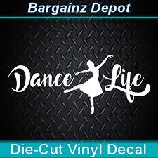 Ballerina Ballet Dancer Life Dance Studio Vinyl Sticker Wall Decals Quotes For Sale Online Ebay