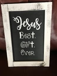 Jesus Best Gift Ever Vinyl Decal Christian Sign Etsy