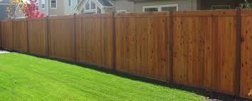 Cedar Wood Fences Rhino Fence Company