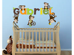 Safari Boy Jungle Animal Wall Decals With Images Jungle Wall Decals Monkey Decal Boys Decal