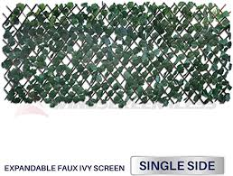 Amazon Com Windscreen4less Artificial Leaf Faux Ivy Expandable Stretchable Privacy Fence Screen Single Sided Leaves 2 Packs Duo Combo Deal Furniture Decor