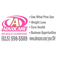 Advocare Full Color Large Window Decal Pink Lime