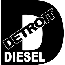 Detroit Diesel Decal Sticker Detroit Diesel Decal Thriftysigns