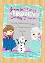 Frozen Invite Frozen Birthday Invitation Elsa And Ana