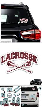 Lacrosse Graphic Car Decal Personalized Personalized Car Accessories Car Personalization Design Your Own Car