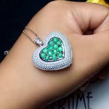 fashion 925 heart pendant 13 pcs 3 mm