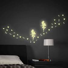 Glow In The Dark Fairy 34 Piece Wall Decal Set Buybuy Baby