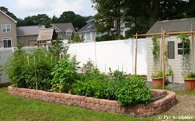 raised garden bed for vegetables with