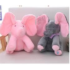 🔥HOT🔥 Đồ chơi con voi có nhạc cho bé 30cm 7007