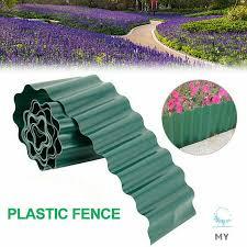Plastic Lawn Border Fence Garden Grass Edge Border Fence Wall Roll Shopee Philippines