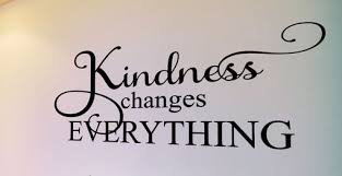 Kindness Changes Everything Classroom Motivational Wall Decal