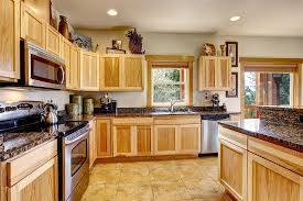 how to clean wooden kitchen cabinets
