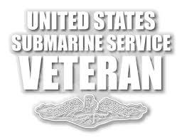 United States Submarine Service Clear Vinyl Decal Clear Vinyl Vinyl Decals Vinyl