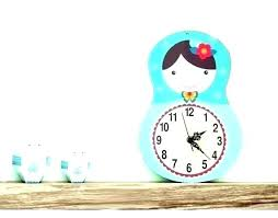 Nursery Wall Clock For Kids Room Clocks Baby