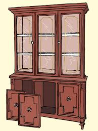 upcycle an old china cabinet