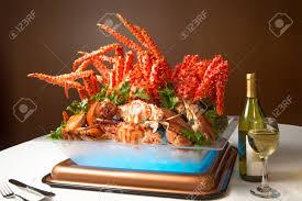 Alaska King Crab Legs.. Stock Photo ...