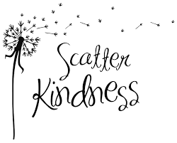 Scatter Kindness Love Vinyl Decal Wall Art Stickers Letters Word Home Decor