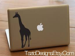 Giraffe Laptop Decal Macbook Vinyl Stickers Ipad Decal Macbook Decal