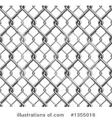 Chain Link Fence Clipart 1355016 Illustration By Vectorace