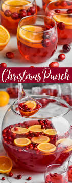 easy christmas punch wine glue