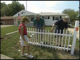 How To Install Vinyl Fence Youtube
