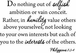 Do Nothing Out Of Selfish Ambition Quote Wall Decal Philippians 2 3 4 Contemporary Wall Decals By Vwaq Vinyl Wall Art Quotes And Prints
