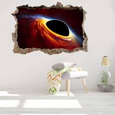 Black Hole Space 3d Wall Decal Pvc Removable Galaxy Universe Wall Sticker For Living Room Bedroom Decoration Black Hole Wallpaper Wall Decals Tree Wall Decals Uk From Jy9146 4 01 Dhgate Com