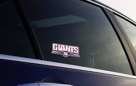 New York Giants Bumper Window Vinyl Decal 6x2 5 In