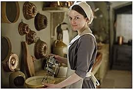 Downton Abbey Sophie McShera as Daisy Mason Using Blender in Kitchen  Smiling 8 x 10 Inch Photo at Amazon's Entertainment Collectibles Store