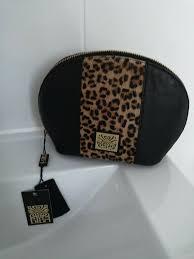 bnwt genuine biba leather cosmetic make