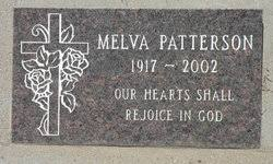 Melva Maurine Patterson (1917-2002) - Find A Grave Memorial