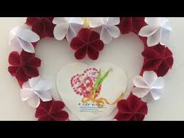 photo frame idea using paper flowers