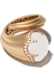gold quartz jewelry for women pare