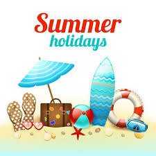 Summer holidays background poster - Download Free Vectors, Clipart Graphics & Vector Art