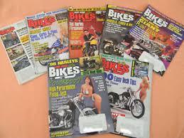 hot rod bikes magazines 1997 7 issues