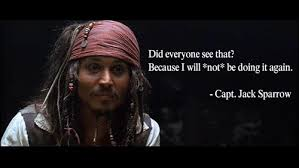 jack sparrow quotes about life and love