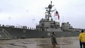 USS Ralph Johnson arrives in Charleston, family members reflect ...