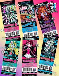 Invitaciones Monster High Invitaciones Draculaura Monster