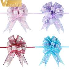gift wrap ribbon pull bows ribbons