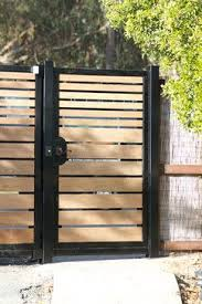 Gates Arbors Entryways Driveway Gates Contemporary Landscape San Francisco Pacific Circle Inc Fence Design Modern Fence Design Modern Fence