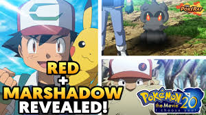 Marshadow and Red REVEALED?! Gen 4 Remakes Hinted?! Pokémon The ...