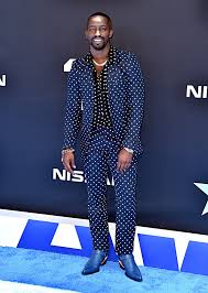 Suited and booted : Elijah Kelley attends the 2019 BET Awards ...