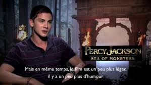 Interview Logan Lerman (Percy Jackson 2 ...
