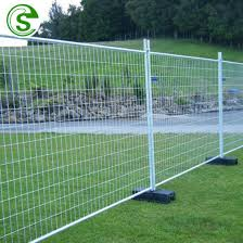 China 6ft X 10ft Anti Rust Hot Dipped Galvanized Mobile Event Fence Panels For Sale China Mobile Event Fence Temporary Construction Fence