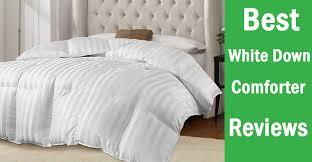 choosing a white down comforter