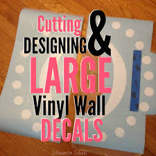 Cutting Large Vinyl Decals With Silhouette Part 1 Of 2 Silhouette School